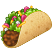 Taco samsung emoji