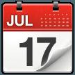 Tear-off Calendar samsung emoji