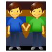 Two Men Holding Hands samsung emoji