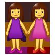 Two Women Holding Hands samsung emoji