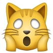 Weary Cat Face samsung emoji