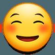 White Smiling Face samsung emoji