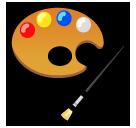 Artist Palette softbank emoji