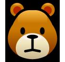 Bear Face softbank emoji