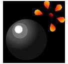 Bomb softbank emoji