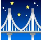 Bridge At Night softbank emoji