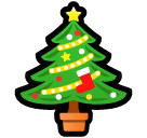 Christmas Tree softbank emoji