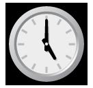 Clock Face Five Oclock softbank emoji