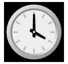 Clock Face Four Oclock softbank emoji