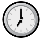 Clock Face Seven Oclock softbank emoji