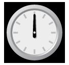 Clock Face Twelve Oclock softbank emoji