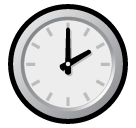 Clock Face Two Oclock softbank emoji