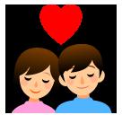 Couple With Heart softbank emoji