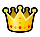 Crown softbank emoji