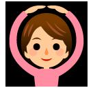Face With Ok Gesture softbank emoji