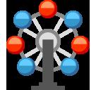 Ferris Wheel softbank emoji