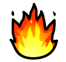 Fire softbank emoji