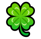 Four Leaf Clover softbank emoji