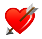Heart With Arrow softbank emoji