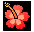 Hibiscus softbank emoji