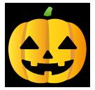 Jack-o-lantern softbank emoji