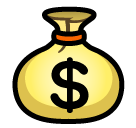 Money Bag softbank emoji