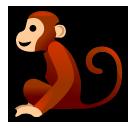 Monkey softbank emoji