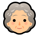 Older Woman softbank emoji