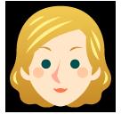 Person With Blond Hair softbank emoji