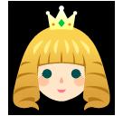 Princess softbank emoji