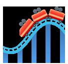 Roller Coaster softbank emoji