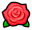 Rose softbank emoji