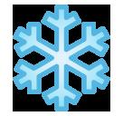 Snowflake softbank emoji