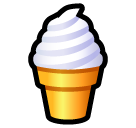 Soft Ice Cream softbank emoji