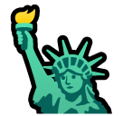 Statue Of Liberty softbank emoji