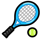 Tennis Racquet And Ball softbank emoji