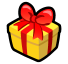 Wrapped Present softbank emoji
