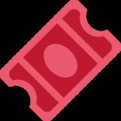 Admission Tickets twitter emoji