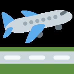 Airplane Departure twitter emoji