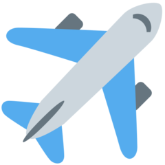 Airplane twitter emoji