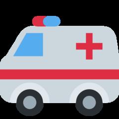 Ambulance twitter emoji
