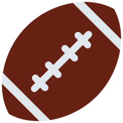 American Football twitter emoji