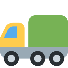 Articulated Lorry twitter emoji