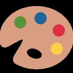Artist Palette twitter emoji