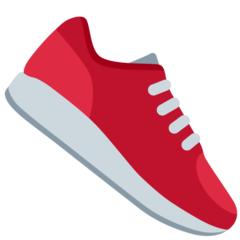 Athletic Shoe twitter emoji