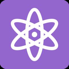 Atom Symbol twitter emoji