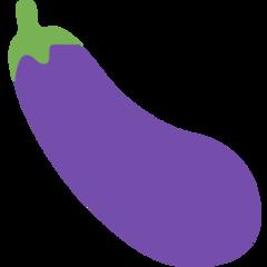 Aubergine twitter emoji