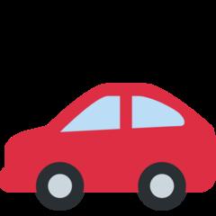Automobile twitter emoji
