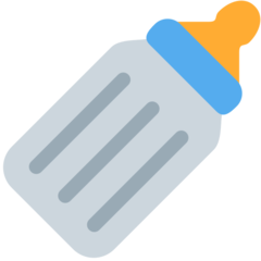 Baby Bottle twitter emoji