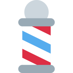 Barber Pole twitter emoji